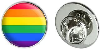 rainbow metal pin