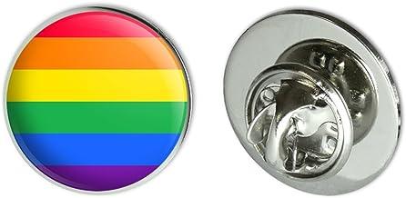 GRAPHICS & MORE Rainbow Pride Gay Lesbian Contemporary Metal 0.75