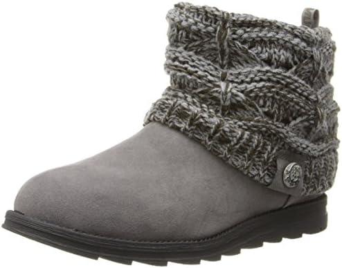 MUK LUKS Women s Patti Boots Grey 6 product image