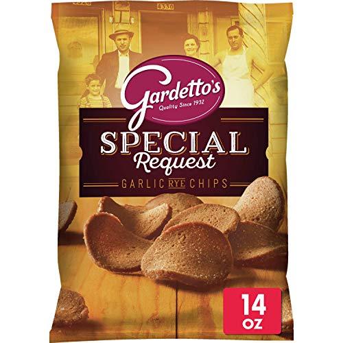 Gardetto's, Roasted Garlic Rye Chips, 14 Oz Bag