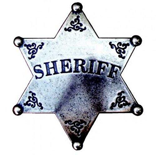 Denix Sheriffstern grau Badge Sheriff Stern Cowboy Western