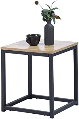 MEUBLE COSY Tables basses de salon table basse design moderne, oak /35 x 35 x 40 cm
