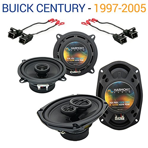 Compatible with Buick Century 1997-2005 Factory Speaker Upgrade Harmony R5 R69 Package New