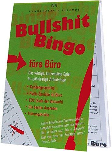 Bullshit Bingo fürs Büro: Das witzige Spiel für den Büroalltag