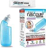 Dr. Hana's Nasopure Nasal Wash   Little Squirt Kit   The Nicer Neti Pot - Nasal Symptoms of Allergies, Cold, Flu, & Sinusitis - Fast All Natural Relief - Nasal Irrigation/Nasal Spray/Nasal Hygiene