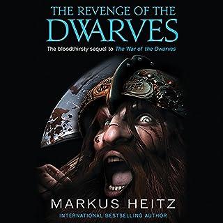 The Revenge of the Dwarves audiobook cover art