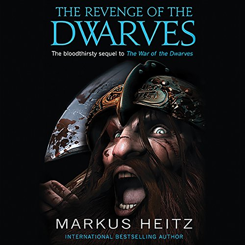 The Revenge of the Dwarves audiobook cover art