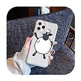 Coque transparente pour iPhone Samsung A S 11 12 6 7 8 9 30 Pro X Max XR Plus lite-a2-iphone xs