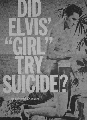 Elvis Presley Shirtless Clipping Magazine Photo orig 1pg 8x10 L7921