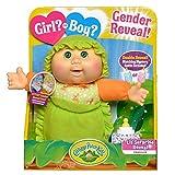 Cabbage Patch Kids Surprise Gender Reveal 9' Deluxe Newborn Baby (Green Eyes, Boy)