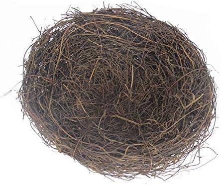 Raleigh Mall LWINGFLYER 2pcs Max 77% OFF Rattan Bird's Nest Crafts Natural Dry Handmade B