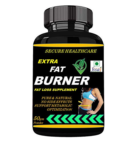 Secure Healthcare Extra Fat Burner For Fat loss (Lemon Flavour) Pack Of 1