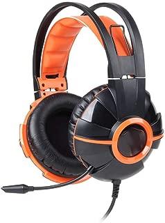 WAJI Head-Mounted Gaming Computer Headset, Music subwoofer Esports Headset Professional Game Competitive Headset, Suitable for Professional Game Competition