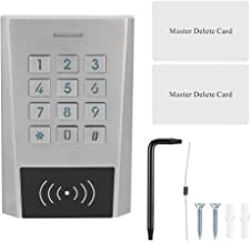 【2021 New Year's Special】 ID Card Access Control, Access Control, Keyboard Control Waterproof Full Color for Home Security...