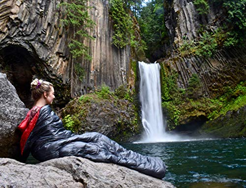 Outdoor Vitals Down TopQuilt Review - Out relaxing by the water