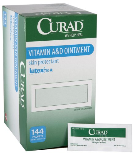 MEDLINE CUR003545 CUR003545Z Curad A and D Ointment (Pack of 144)