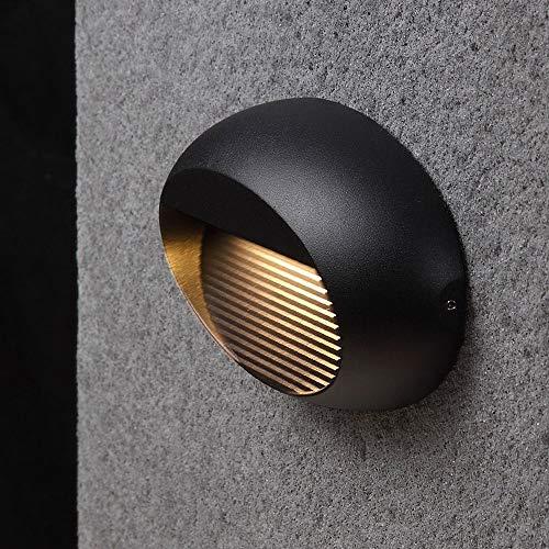WZXCAP Weerbestendig Moderne niet-roestende wandlantaarn eenvoud Europese kandelaar lamp Outdoor LED Creatieve gazon wandlamp roestbescherming tuin wandlamp voor buiten