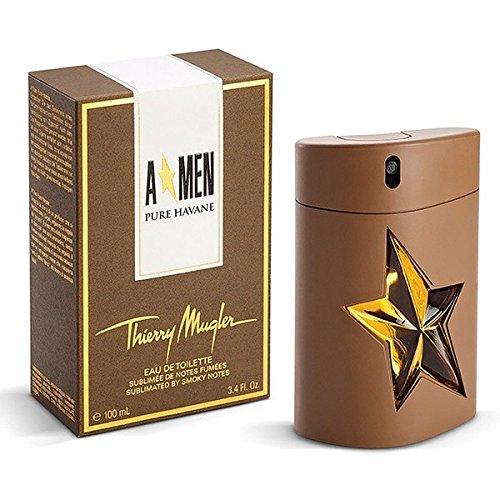 Thierry Mugler A*MEN Angel Men Pure Havane 100ml/3.4oz EDT Cologne Perfume Spray