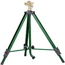 2 Pack - Orbit Heavy Duty Brass Lawn Impact Sprinkler on Tripod Base