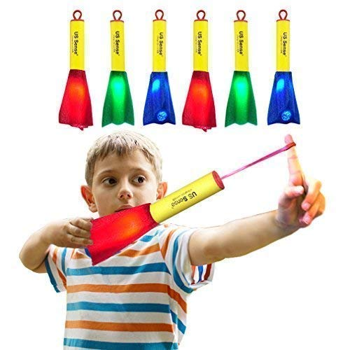 US Sense 6 Pack LED Foam Finger Rockets...