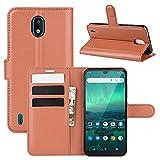 Étui de téléphone Flip pour Nokia 1.3 Litchi Texture Texture Horizontal Flip Cas de Protection...