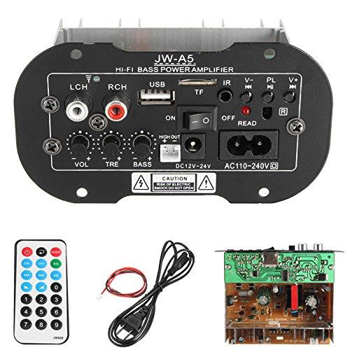 ILS universele subwoofer auto auto auto 30 W Hi-Fi versterker basgitaar woofer met TF USB-functie Bluetooth