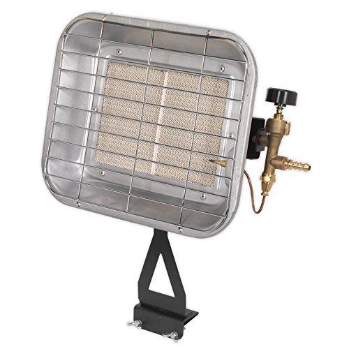 Sealey LP13 Space Warmer Propane Heater 10,250-15,354Btu/hr Bottle Mounting