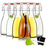 12oz Swing Top Bottles -Glass Beer Bottle...