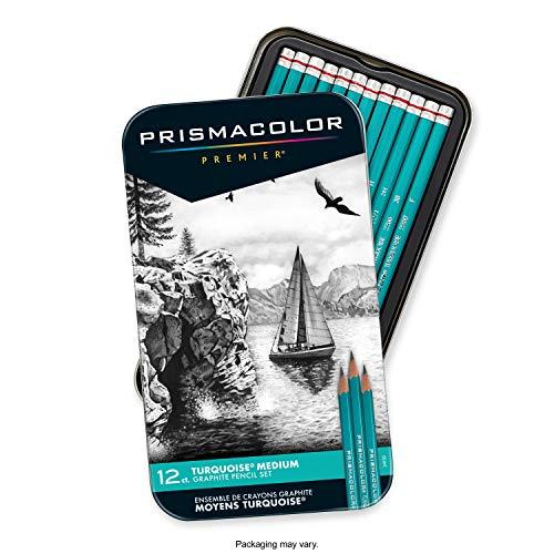Prismacolor Premier Turquoise Graphite Sketching Pencils