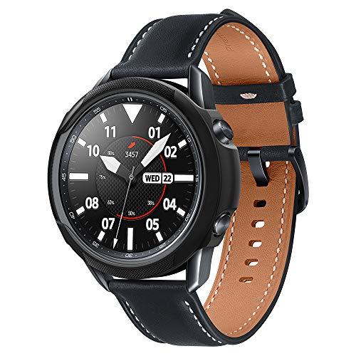 Spigen Liquid Air Armor Kompatibel mit Galaxy Watch 3 Hülle 45mm (2020) - Matt-schwarz