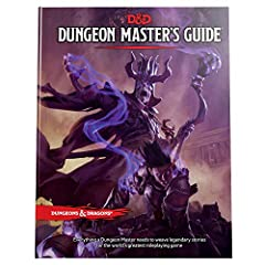 Dungeons & Dragons - D&D - Dungeon Master's Guide 320 pages Provides Inspiration To Create Worlds Of Adventure For Players To Explore And Enjoy.Contains World-Building Tools and Tips And Tricks For Creating Memorable Dungeons And Adventures, Optional...
