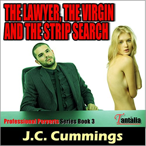 The Lawyer, the Virgin and the Strip Search audiobook cover art
