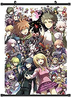 Mxdfafa Danganronpa Dangan-Ronpa Home Decor Japanese Anime 2 Kyouko Kirigiri Whole Roles New Poster Wall Scroll Cosplay