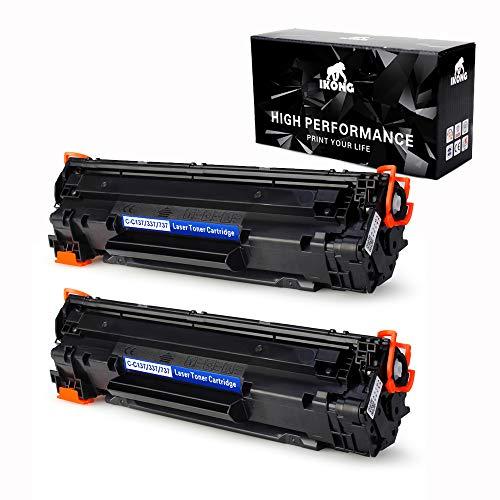 2-BLACK IKONG 137 Toner compatible Replacement works with Canon imageCLASS MF216n, MF227DW, MF229DW, MF247DW, MF236N, LBP151dw, MF249DW, MF244dw, MF217W Printers