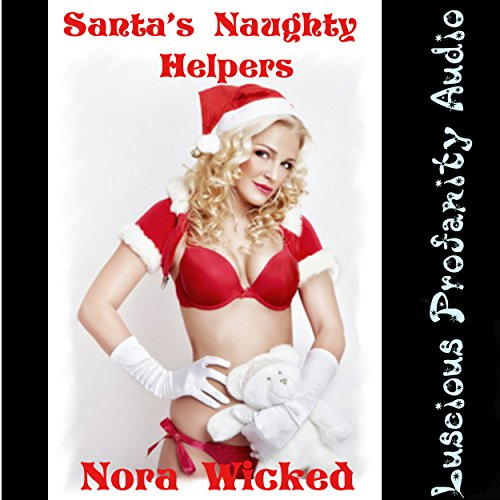 Santa's Naughty Helpers audiobook cover art