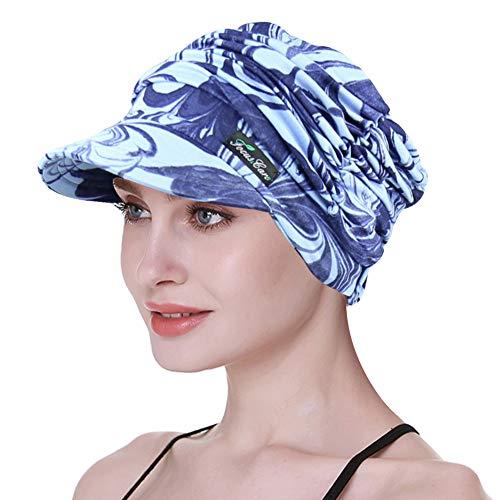 FocusCare Krebs-Kopfbedeckung, Haarausfall-Frauen-Abdeckungs-Kopfhaut-atmungsaktives Bambusgewebe