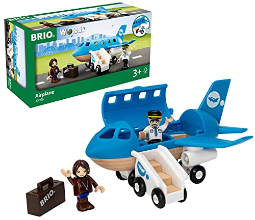 BRIO Bahn 33306 - Blaues Flugzeug