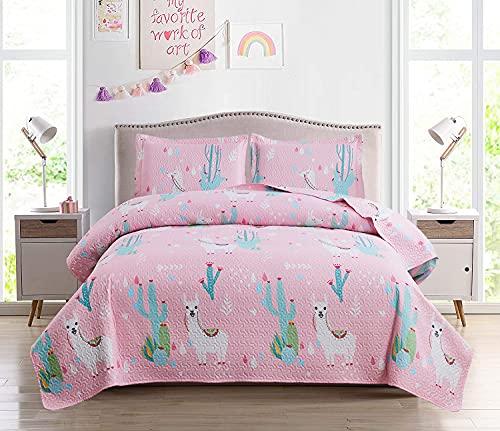 3-Piece Kids Quilt Bedspreads Tw...