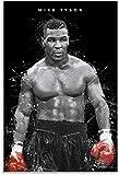 ZRRTTG Leinwand Druck Poster Mike Tyson Boxing Wallpaper