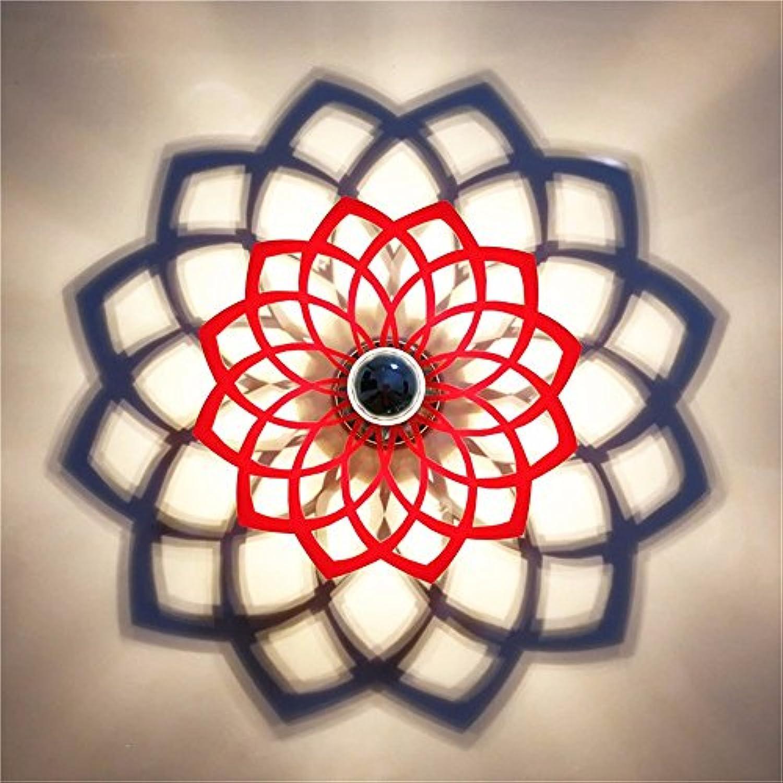 StiefelU LED Wandleuchte nach oben und unten Wandleuchten Wandleuchte Acryl ausgesetzt Korridor dekorative Wandleuchten led Lotus Schatten Wandleuchte