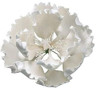 Peony Sugar Flower Gumpaste Peony White 4'' (101mm) 20061