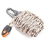 Emergency Survival Kit Grenade - 20 Accessories First Aid Kit Survival Wrapped in 550 lb Paracord...