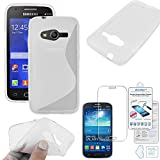 ebestStar - Compatible Coque Samsung Galaxy Trend 2 Lite SM-G318H, Galaxy V Plus Etui Housse Silicone Gel Motif S-Line,...