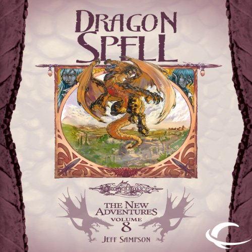 Dragon Spell audiobook cover art