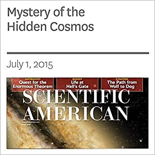 Mystery of the Hidden Cosmos audiobook cover art