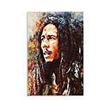 Bob Marley Poster Dekorative Malerei Leinwand Wandkunst