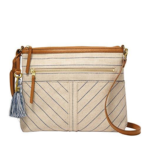 Fossil Women's Fiona Fabric Large Crossbody Handbag