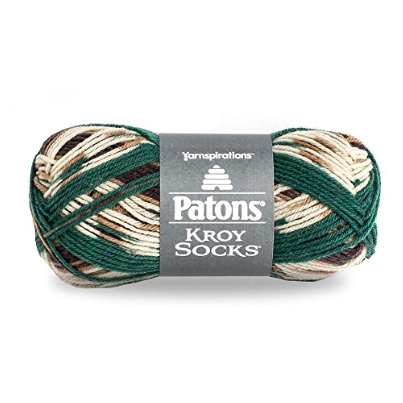 Patons  Kroy Socks Yarn - (1) Super Fine Gauge  - 1.75 oz -  Woodsie Woodsie -   For Crochet, Knitting & Crafting zwvolxzphsqzm898