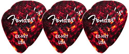 Fender Wavelenght 351 X Heavy Pack 6 Unidades Tortoise Shell