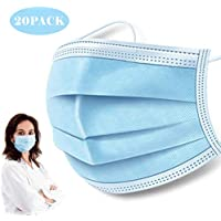 50-Pack Eway Disposable Oral Protective Face Mask